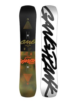 Rome Gang Plank Snowboard (white/black)