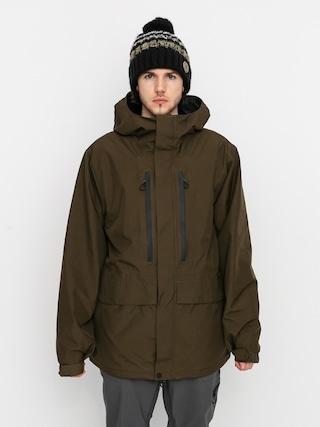 Volcom Ten Ins Gore Tex Snowboard dzseki (black military)