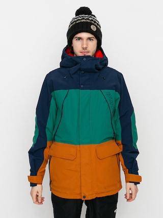 Burton Breach Insulated Snowboard dzseki (dress blue/antique green/true penny)