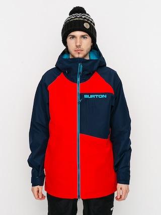 Burton Gore Tex Radial Insulated Snowboard dzseki (flame scarlet/dress blue)