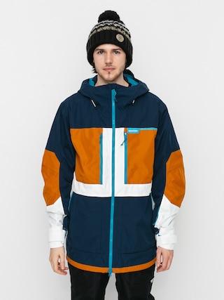 Burton Frostner Snowboard dzseki (dress blue/true penny/stout white)