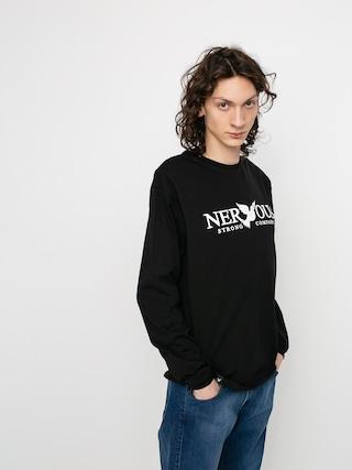 Nervous Classic Hosszu00fa ujju00fa felsu0151 (black)