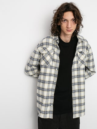 RVCA Thatll Work Flannel Ls Ing (antique white)