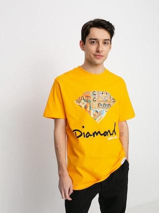 Diamond Supply Co. Ethiopian Diamond Ujjatlan felsu0151 (gold)