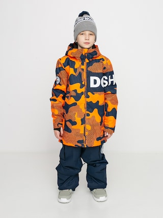 DC Propaganda Snowboard dzseki (youth pill camo shocking orang)