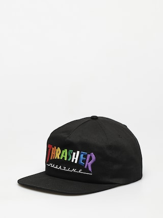 Thrasher Rainbow Mag Snapback ZD Baseball sapka (black)