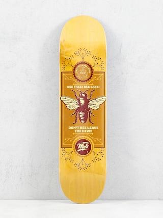 Mob Skateboards Bee Gu00f6rdeszka lap (yellow)