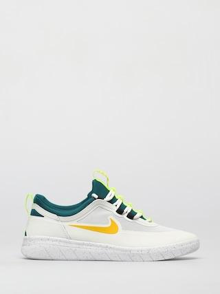 Nike SB Nyjah Free 2 Cipu0151k (summit white/university gold geode teal)