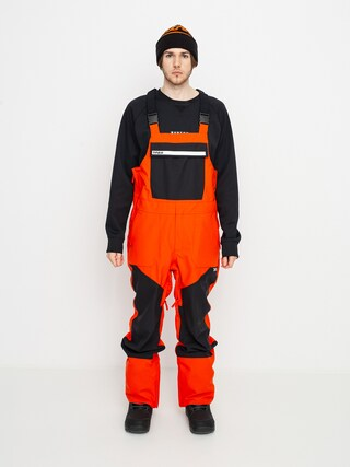 ThirtyTwo Basement Bib Snowboard nadru00e1g (orange)