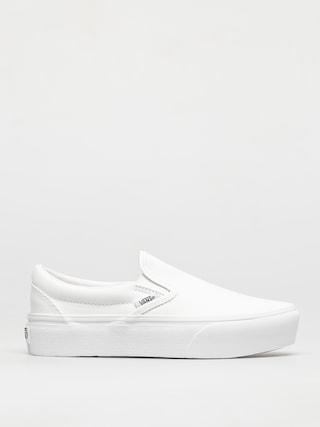 Vans Classic Slip On Platform Cipu0151k (true white)