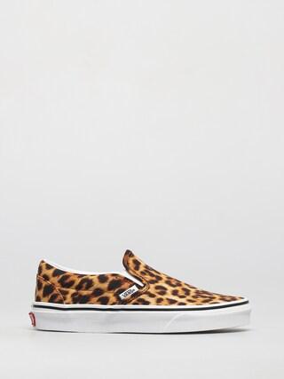 Vans Classic Slip On Cipők (leopard black/true white)