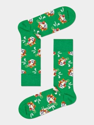 Happy Socks Tiger Zokni (green)