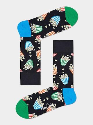 Happy Socks Popcorn Zokni (black)