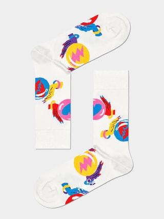 Happy Socks Fortune Teller Zokni (white)