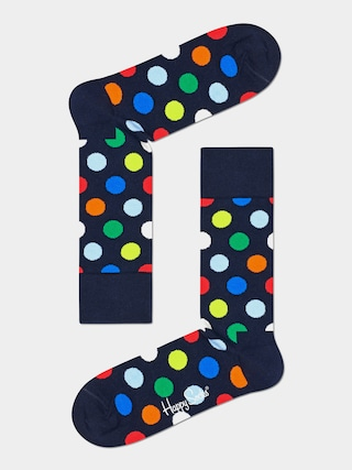 Happy Socks Big Dot Zokni (navy)