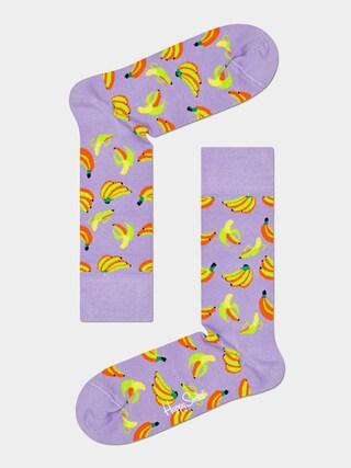 Happy Socks Banana Zokni (purple)