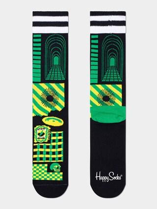 Happy Socks Cover Zokni (black)