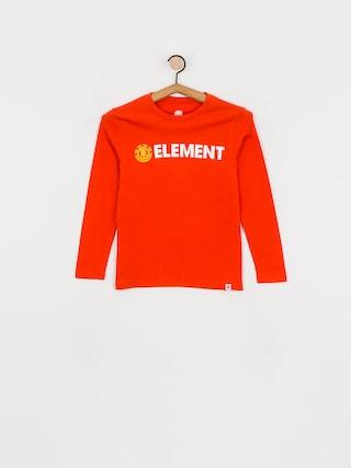 Element Blazin Hosszu00fa ujju00fa felsu0151 (red clay)