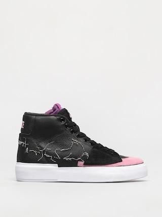 Nike SB Zoom Blazer Mid Edge Cipu0151k (black/pink rise white purple nebula)