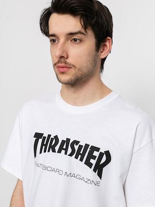 Thrasher Skate Mag Ujjatlan felső (white)