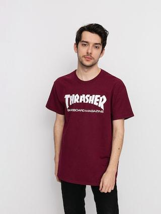 Thrasher Skate Mag Ujjatlan felsu0151 (maroon)