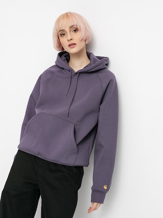 Carhartt WIP Chase HD Wmn Kapucnis pulu00f3ver (provence/gold)