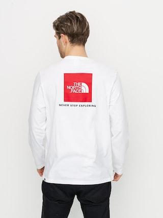 The North Face Redbox Hosszu00fa ujju00fa felsu0151 (tnf white)