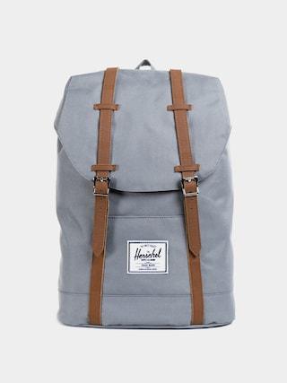 Herschel Supply Co. Retreat Hu00e1tizsu00e1k (grey/tan synthetic leather)