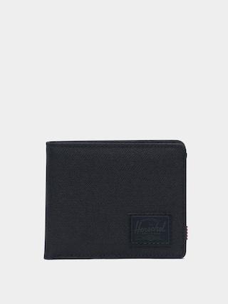 Herschel Supply Co. Roy Coin RFID Pu00e9nztu00e1rca (black/black)
