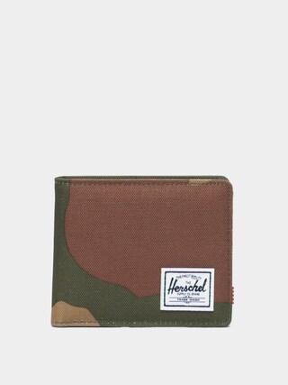 Herschel Supply Co. Roy Coin RFID Pu00e9nztu00e1rca (woodland camo)