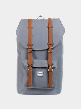 Herschel Supply Co. Little America Hu00e1tizsu00e1k (grey/tan synthetic leather)