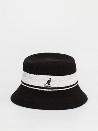 Kangol Bermuda Stripe Bucket Kalap (black)