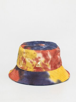 Kangol Tie Dye Bucket Kalap (golden palm)