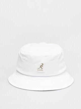 Kangol Washed Bucket Kalap (white)