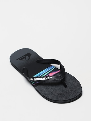 Quiksilver Molokai Hold Down Flip-flop papucsok (black/grey/black)