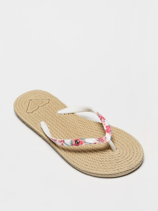 Roxy South Beach II Wmn Flip-flop papucsok (white ringer)
