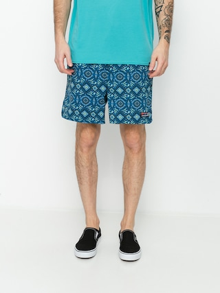 Patagonia Stretch Wavefarer Volley Shorts 16in Boardshort (honeycomb small/seaport)