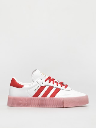 adidas Originals Sambarose Wmn Cipu0151k (ftwwht/vivred/trupnk)
