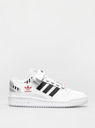 adidas Originals Forum Low Wmn Cipu0151k (ftwwht/cblack/trupnk)