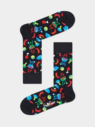 Happy Socks Barbeque Zokni (black)