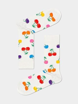 Happy Socks Cherry Zokni (white)
