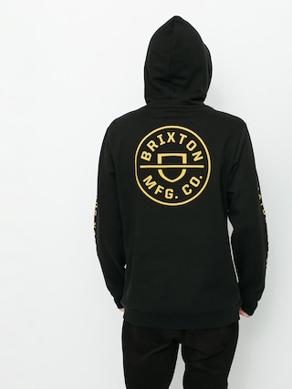 Brixton Crest HD Kapucnis pulu00f3ver (black)