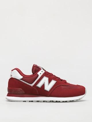 New Balance 574 Cipők (scarlet)