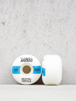 Bones Og Formula V4 Wide 100A Gu00f6rdeszka keru00e9k (white/blue)