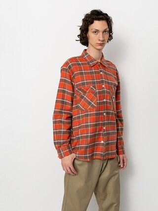 Polar Skate Flannel Ing (orange)
