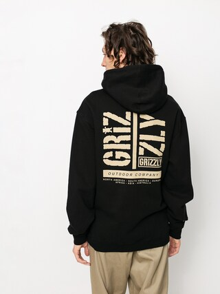 Grizzly Griptape Family Ties HD Kapucnis pulu00f3ver (black)