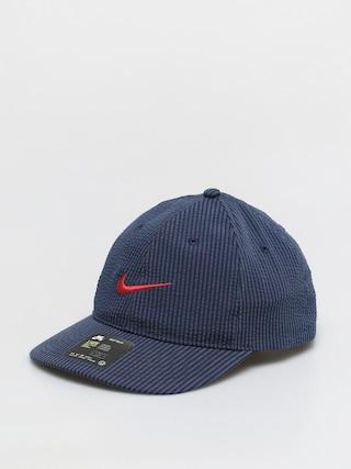 Nike SB H86 Flatbill Seersucker Baseball sapka (midnight navy/university red)