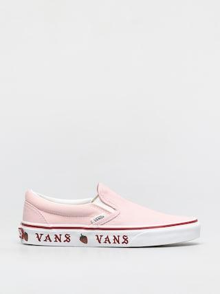 Vans Classic Slip On Cipu0151k (sidewall print blushing bride/strawberry)