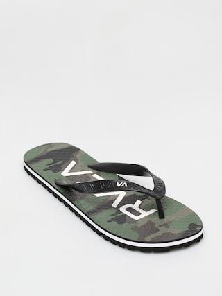 RVCA Trenchtown Sandals I lu00e1bujjas papucs (camo)