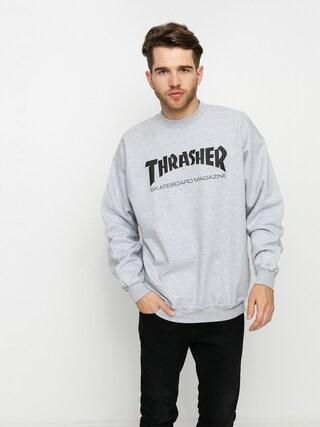 Thrasher Skate Mag Crew Pulu00f3ver (grey)